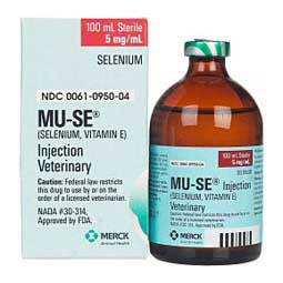 Mu-Se for Weanling Calves and Breeding Beef Cattle 100 ml - Item # 227RX