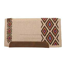 Woven Top Saddle Pad Sand - Item # 22819