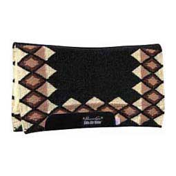 Quest Comfort-Fit SMx H.D. Air Ride Horse Saddle Pad Black/Tan 33'' x 38'' - Item # 22928
