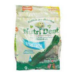 Nutri Dent Extra Fresh Dental Chews L (9 ct) - Item # 23132