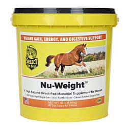 Nu-Weight Energy & Weight Gain Supplement for Horses Select The Best
