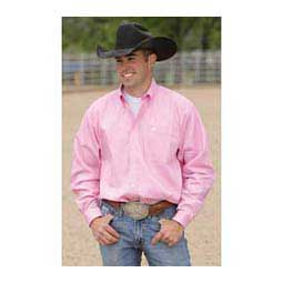 Prism Pink Solid Cinch Mens Shirt