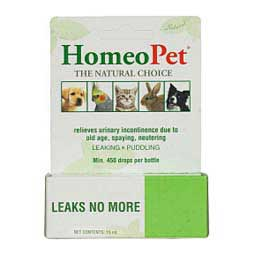 Leaks No More for Pets 15 ml - Item # 23937