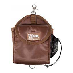 Brown Snap-on Lunch Bag