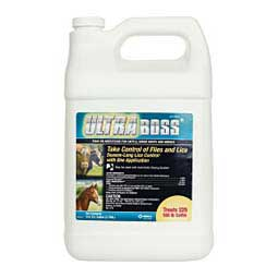 Ultra Boss Permethrin Insecticide Pour-On for Cattle, Sheep, Goats and Horses Merck