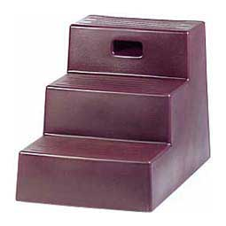 3 Step Mounting Step Maroon - Item # 24710