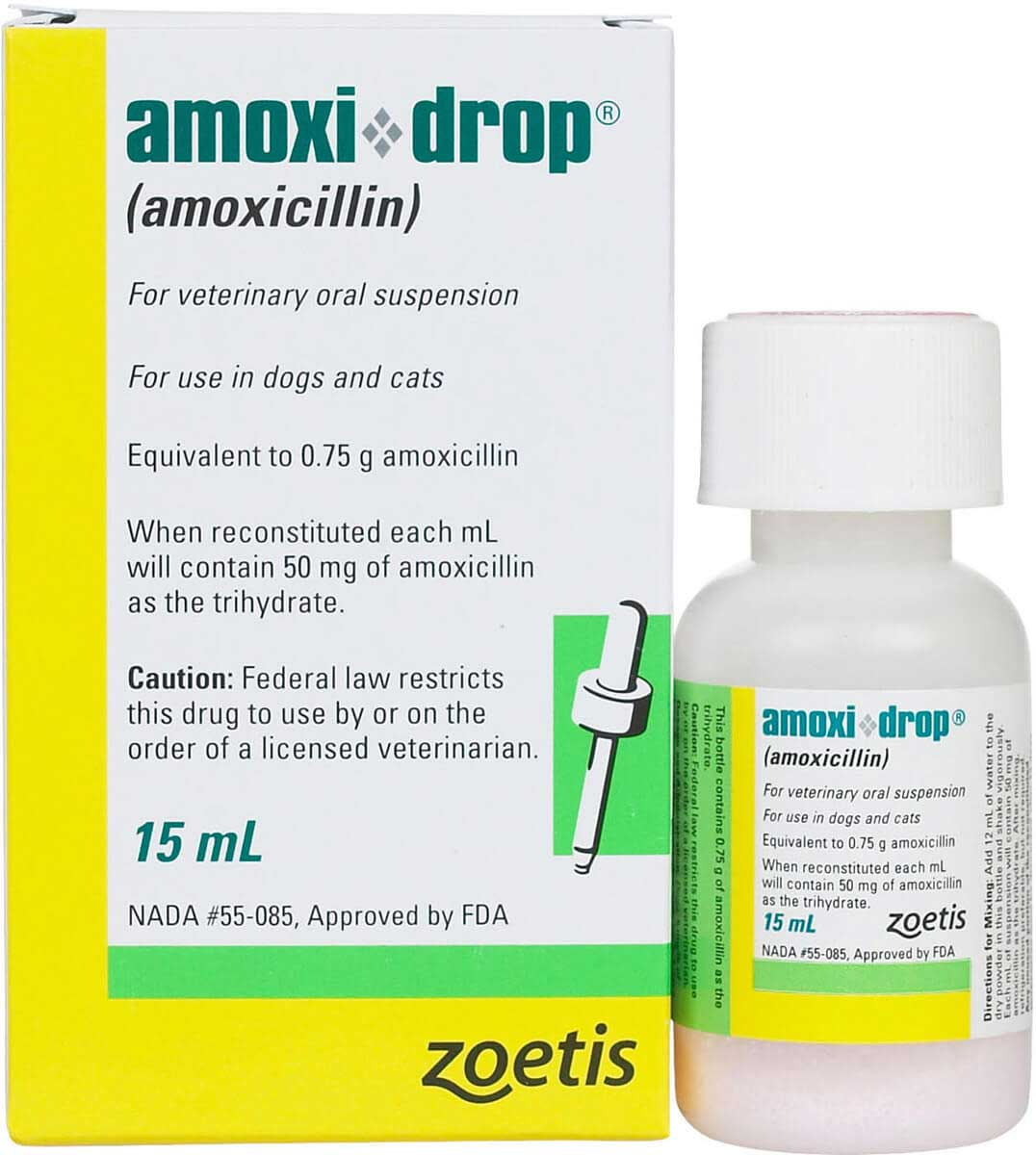 Amoxidrop For Dogs Cats Zoetis Animal Health Safearmacycat Rx
