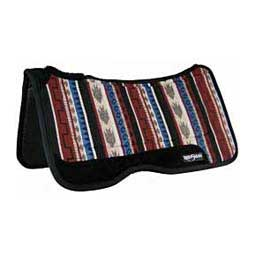 Comfort Flex Tacky Too Saddle Pad Red/Black/Tan - Item # 26166