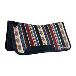 Contour Tacky Too Saddle Pad Red/Black/Tan - Item # 26168