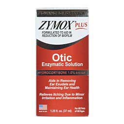 Zymox Plus Otic-HC 1.25 oz - Item # 26376