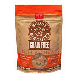 Peanut Butter 5 oz Grain Free Soft & Chewy Buddy Biscuits