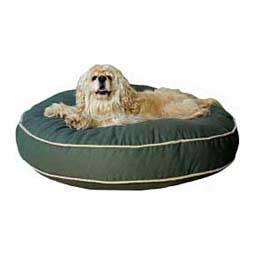 Classic Cotton Canvas Round-a-Bout Dog Bed Sage - Item # 26619