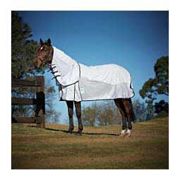 Kool Coat Airstream Detach-A-Neck Horse Sheet White/Navy - Item # 26654