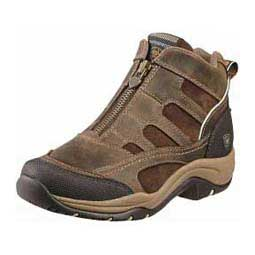 Distressed Brown Womens Terrain Zip H2O Boots