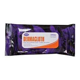 DermaCloth Topical Rinse Free Cleansing Cloths for Horses 8 ct - Item # 27985