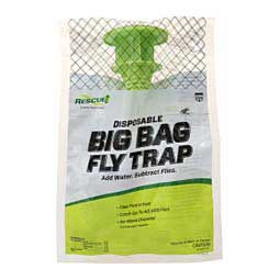 Rescue! Big Bag Disposable Fly Trap Single - Item # 28568