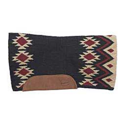 Black/Burgundy Brookside Contour Blanket