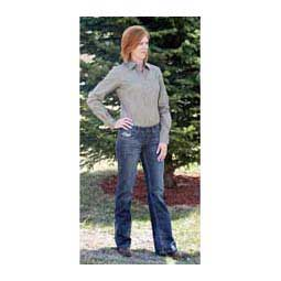 Medium Stonewash Cowgirl Tuff Don't Fence Me In Womens Jeans