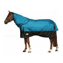 Aqua/Black Original 1680 Denier Detach-a-Neck Medium Blanket