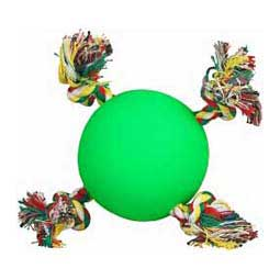 Tuggy Ball Dog Toys Green 3.5'' - Item # 29243