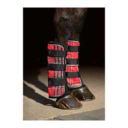 Natural Collections Protective Fly Boots Red Plaid - Item # 29311
