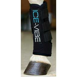 Ice-Vibe Circulation Therapy Horse Boots Black - Item # 29328