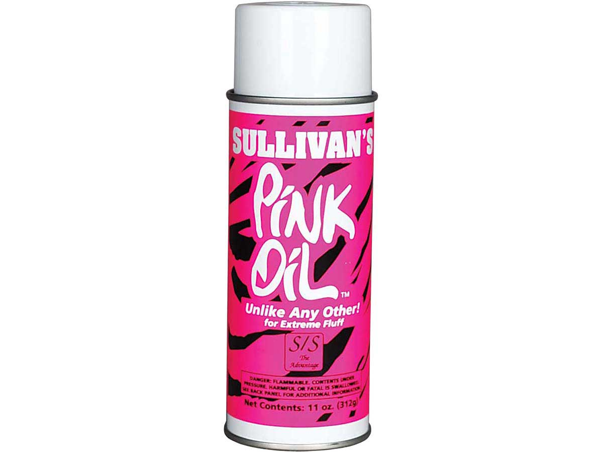 Sullivan Pink Oil Supply Showing Grooming Adhesives Styling Hair Sheen