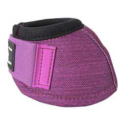Dy-No-turn Horse Bell Boots Plum - Item # 30243