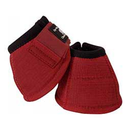 Dy-No-turn Horse Bell Boots Crimson - Item # 30243