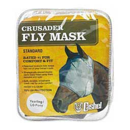 Crusader Pasture Standard Fly Mask without Ears Yearling - Item # 30613
