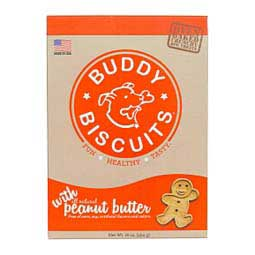 Buddy Biscuits Oven Baked Dog Treats Peanut Butter 16 oz - Item # 31290