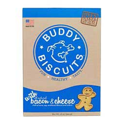 Buddy Biscuits Oven Baked Dog Treats Bacon & Cheese 16 oz - Item # 31290