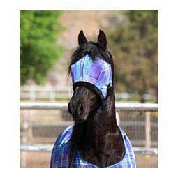 Fly Mask with Fleece Trim Lavender/Mint - Item # 31374