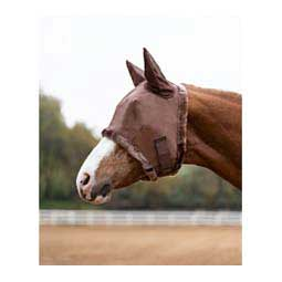 Fly Mask w/Ears Brown - Item # 31375