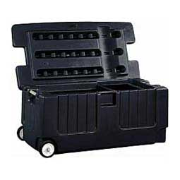 Tack Trunk w/Wheel Assembly Black - Item # 32059