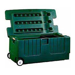 Tack Trunk w/Wheel Assembly Green - Item # 32059