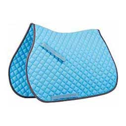 Contrast All Purpose English Saddle Pad Light Blue/Slate - Item # 32254