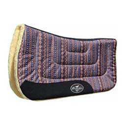 Contoured Work Saddle Pad Tribal/Navy - Item # 32339