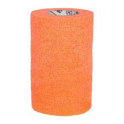 "Vetrap 4"" Latex-Free Hand Tear Bandaging Tape Orange - Item # 32621"