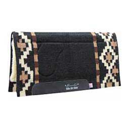Ortho-Sport Anza Saddle Pad Black/Tan - Item # 32630