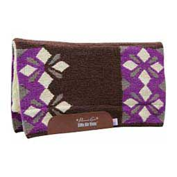Purple/Cream SMx Sparkle Comfort Fit Air Ride Saddle Pad