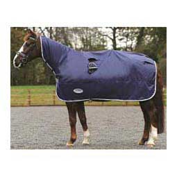 Performance Rain Horse Sheet Navy/Gray/White - Item # 32868