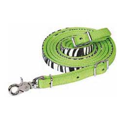 Untamed Collection Roping Reins Lime Zest - Item # 32927