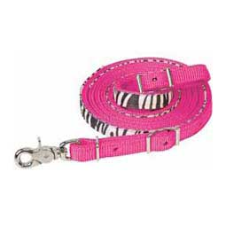 Diva Pink Untamed Collection Roping Rein