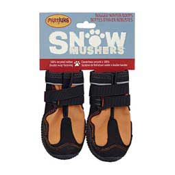 Muttluks Snow Mushers Dog Boots Orange - Item # 33111