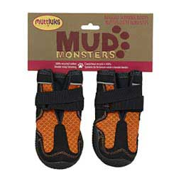 Muttluk Mud Monsters Dog Boots Orange - Item # 33113