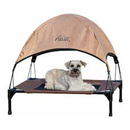 Canopy for Pet Cots Gray L (30'' x 42'' x 28'') - Item # 33123