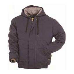 Navy Berne FR Hooded Mens Jacket