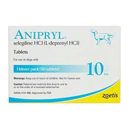 10 mg/30 ct Anipryl Tablets for Dogs