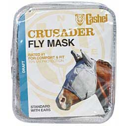 Crusader Pasture Standard Fly Mask with Ears Draft - Item # 34370